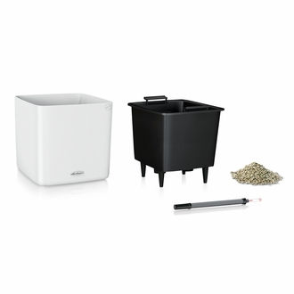 14in. Fleck Cube Self-Watering Planter