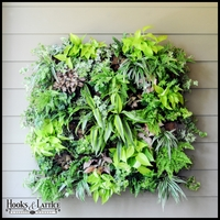 14in. Square Living Wall Planter