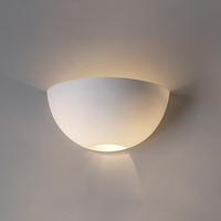 "15.5""  Deep Bowl Wall Sconce with Light Hole"