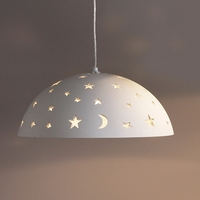 "15.5"" Night Sky Ceramic Pendant Light"