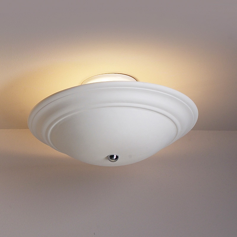 15 Quot Shallow Saucer Ceiling Light