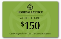 $150 Hooks and Lattice Gift Certificate