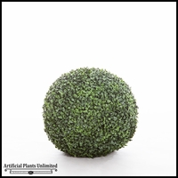 15in. Artificial Boxwood Topiary Balls - Indoor