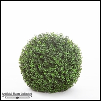 15in. Ornamental Boxwood Topiary Balls - Indoor