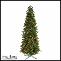 7.5 ft Noble Pre-Lit Fir Artificial Christmas Tree w/ Clear LED Lights