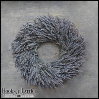 16in. Dried Lavender Wreath