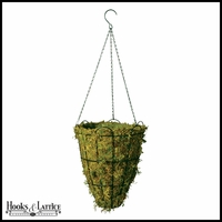 16in. Beehive Hanging Basket with Mossmat