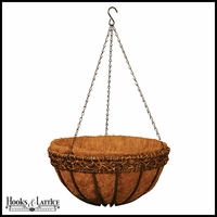 16in. Olde World Style Hanging Basket