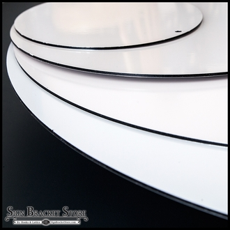 36in. Oval Poly Metal Sign Blank