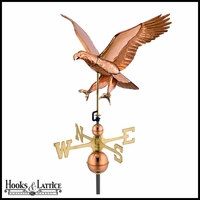 "17"" Large Attack Eagle Weathervane"