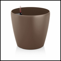14in. Shatterproof Self-Watering Planter - Nutmeg