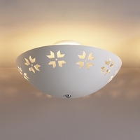 "18"" Abstract Maple Leaf Ceiling Light"