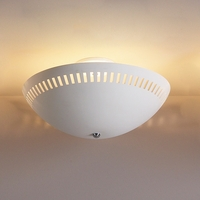 "18"" Ceiling Light w/ Contemporary Eyelets"