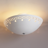 "18"" Ceiling Light w/ Southwest Border"