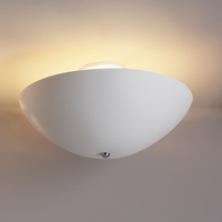 "18"" Ceramic Vessel Ceiling Light"