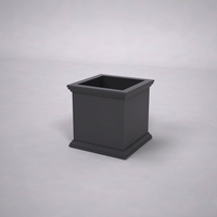 Laguna Premier Composite Commercial Planter 18in.L x 18in.W x 18in.H