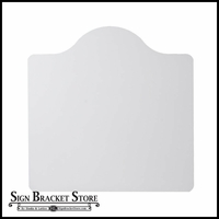 "18"" x 18"" Mission Style Sign Blank"
