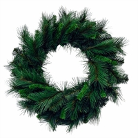 "24"" Merrywood Mixed Pine Artificial Wreath"