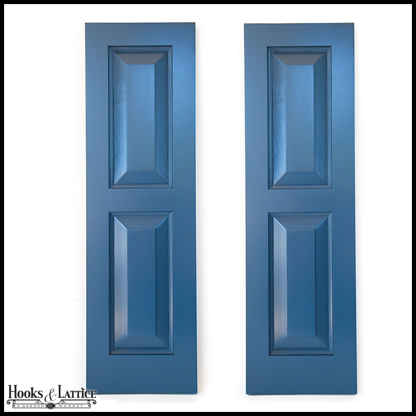 12in wide never fail raised 2 panel pvc composite exterior shutters pair for 18 inch wide exterior shutters