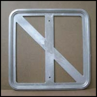 18in. x 18in. Aluminum Sign Frame