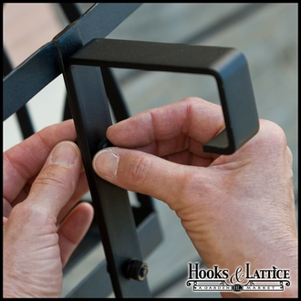 "2"" x 8"" Deck Rail Brackets 