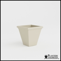 Tuscana Tapered Fiberglass Commercial Planter 20in.L x 20in.W x 20in.H