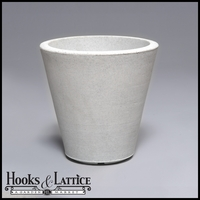 "14"" Mondrian Tapered Planter - Marble"