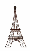 "20""W x 39""H Large Eiffel Tower Wall Decor Art"