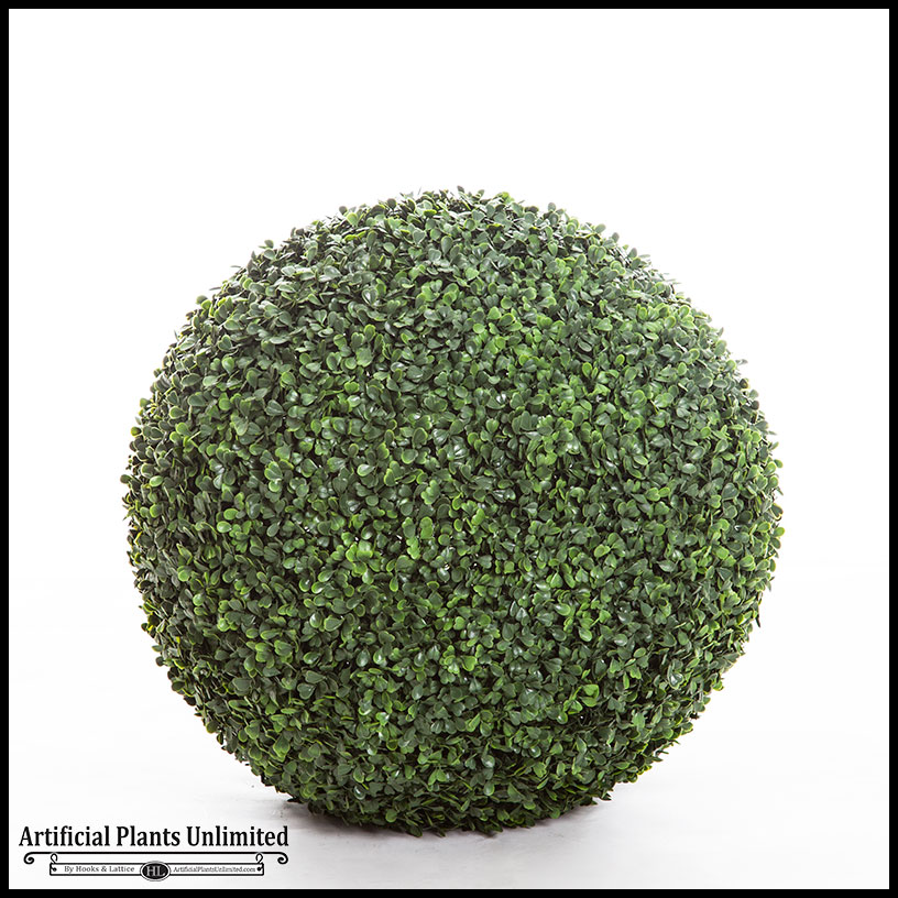 Decorative Spheres Outdoor Faux Boxwood Artificial