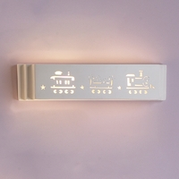 "22.75"" Choo-Choo Train Ceramic Bathroom Sconce"