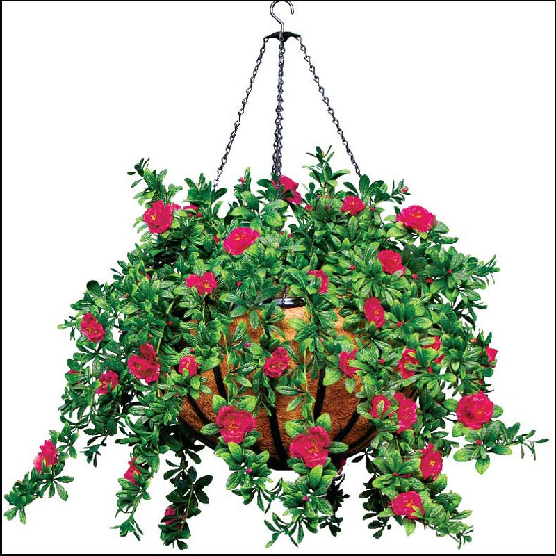 artificial hanging baskets, faux flowers | artificial plants unlimited