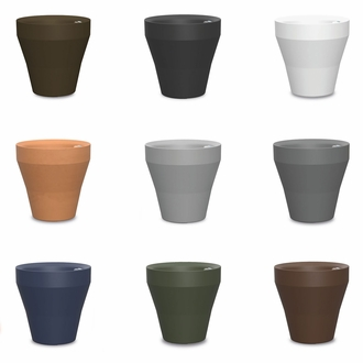 22in. Rimmed Self-Watering Planter