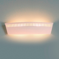 """23.5"""" Contemporary Chic Bathroom Light w/ Cut Out Border"""