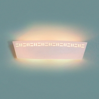 """23.5"""" Contemporary Cut Out Bathroom Light Sconce"""