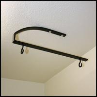 "24"" - 36"" Lower Bar Ceiling Bracket"