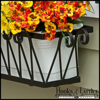 24in. Del Mar Decora Window Box w/ Vinyl Liner