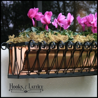 "24"" Del Mar Heights Window Box"