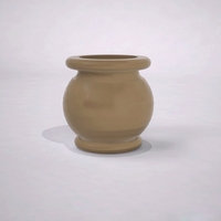 "24"" Dia. x 24""H Abbey Round Planter"