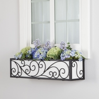 24in. Wayfarer Window Box Cage w/ Liner