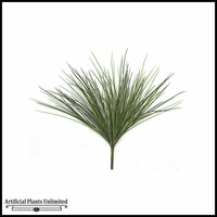 2' Grass Bush - Two Tone Green|Indoor