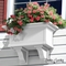 24 in. Provincial Window  Box Kit  - White