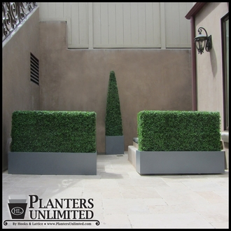 Boxwood Outdoor Artificial Hedge 24in.L x 12in.W