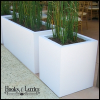 Urban Chic Premier Contemporary Planter 24in.L x 18in.W x 24in.H