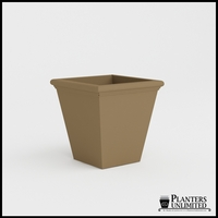 Tuscana Tapered Fiberglass Commercial Planter 24in.L x 24in.W x 24in.H