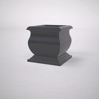"24""L x 24""W x 24""H  Villagio Square Planter"