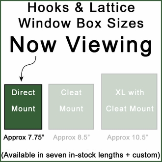 "24"" Laguna Premier Direct Mount Flower Box"