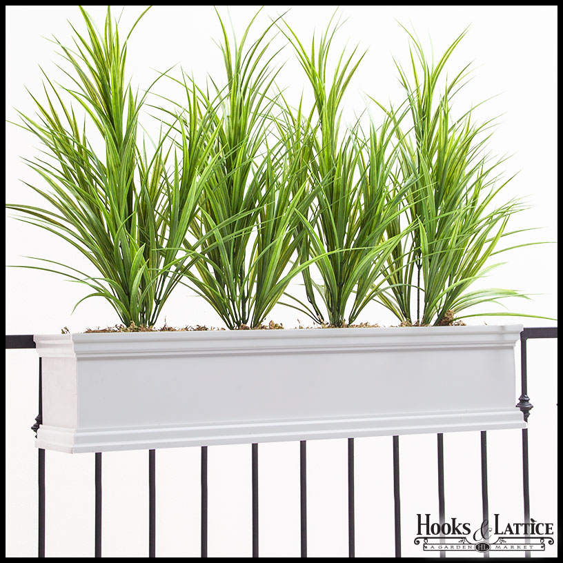 Laguna Railing Mount Window Box