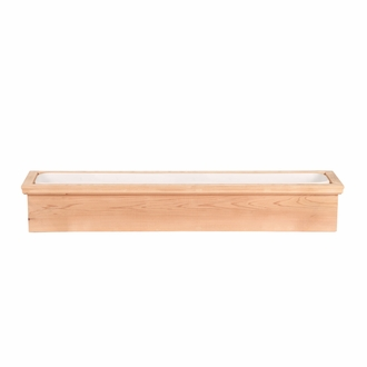 24in. Newport Cedar Window Box