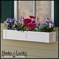 "24"" Solera Premier Direct Mount Flower Box"
