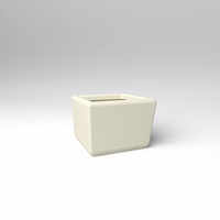 "24"" Square x 18""H Naples Square Planter"